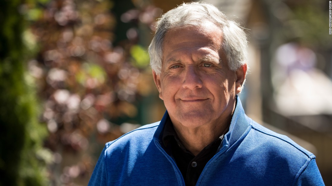 Les Moonves, president and CEO of CBS