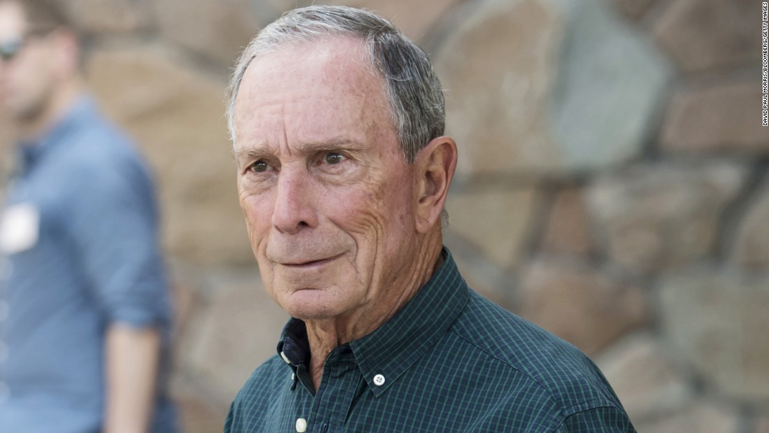 Mike Bloomberg, founder of Bloomberg and a former New York City mayor