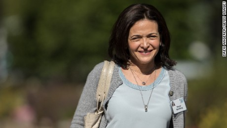 SUN VALLEY, ID - JULY 13: Sheryl Sandberg, chief operating officer of Facebook, attends the third day of the annual Allen & Company Sun Valley Conference, July 13, 2017 in Sun Valley, Idaho.