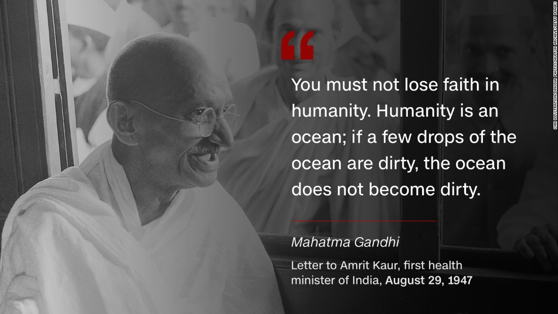 Mahatma Gandhi Soldier Of Peace