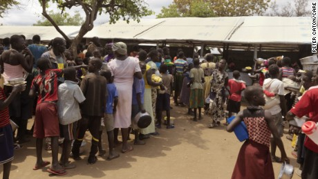 Aid agencies coordinate relief efforts to make sure new refugee arrivals from South Sudan are helped in Uganda.