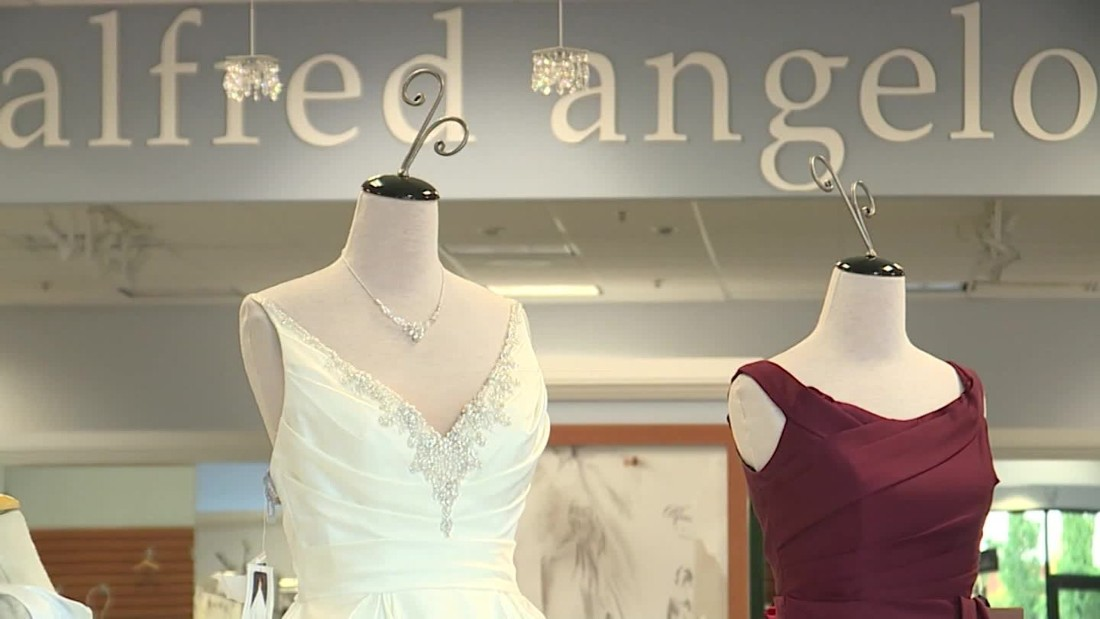 Alfred angelo reportedly shuts down cnn video for Donate older wedding dress
