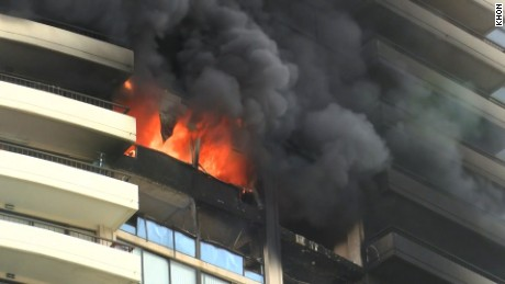 hawaii condo fire