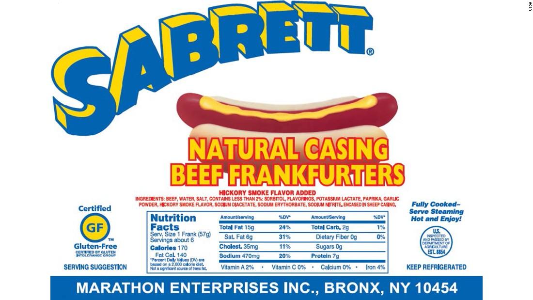 Hot Dog Recall Oscar Mayer