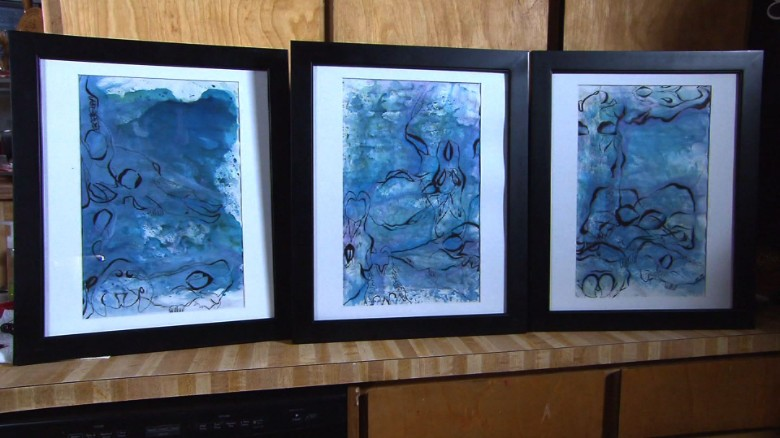 Family searches for answers in whale paintings
