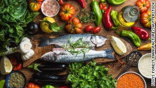 Mediterranean diet slows cognitive impairment, studies say