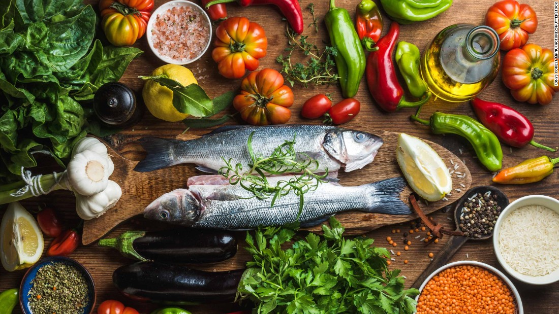 Mediterranean diet has benefits in old age, study says - CNN