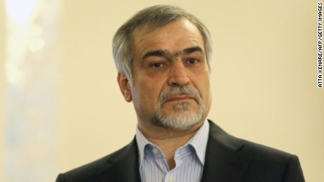 Hossein Fereydoun is a senior diplomat who played a key role in talks over the nuclear deal.
