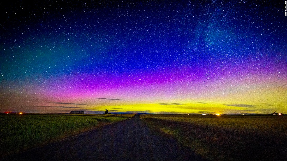Americans and Canadians will have a rare chance to see the northern lights