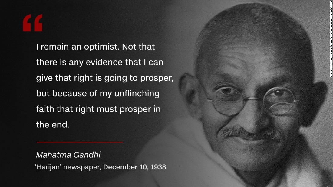 Mahatma Gandhi Soldier Of Peace