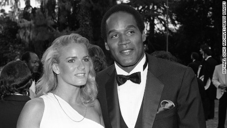Nicole Brown and O.J. Simpson attend a function circa 1984 in Los Angeles.