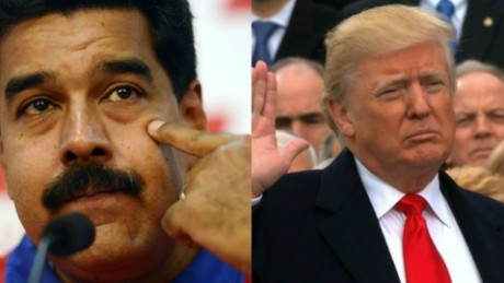 Trump calls Venezuela's Maduro a 'bad leader,' threatens tougher sanctions