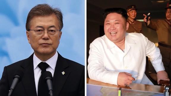 north korea, south korea leaders
