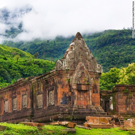 Vat Phou or Wat Phu is the UNESCO world heritage site in Champasak, Southern Laos.