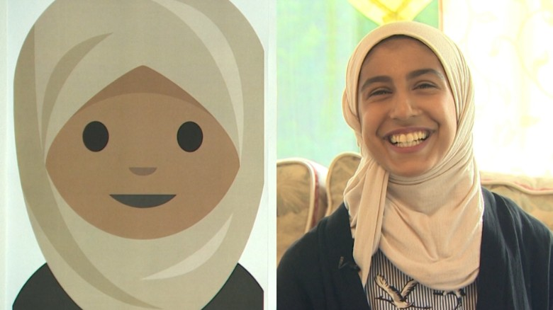 eebe3c1f782 Teen behind hijab emoji   I just wanted an emoji of me  - CNN