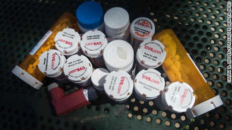 Some of the medications Clyde Boyce takes every day for various ailments.