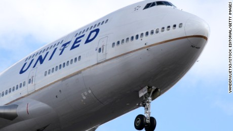The dog was put inside an overhead bin on a United flight. It didn't survive