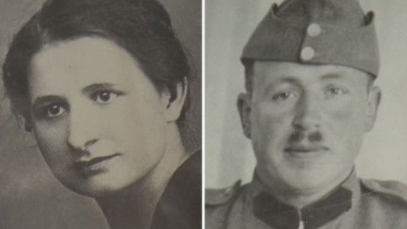 Francine (left) and Marcelin Dumoulin went missing from their Swiss farm in 1942.