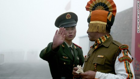 China strengthens air defense with regard to India, state media says