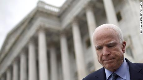 Grief, support pours in after McCain brain cancer diagnosis