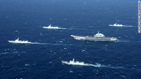 China holds massive drills off Hainan Island