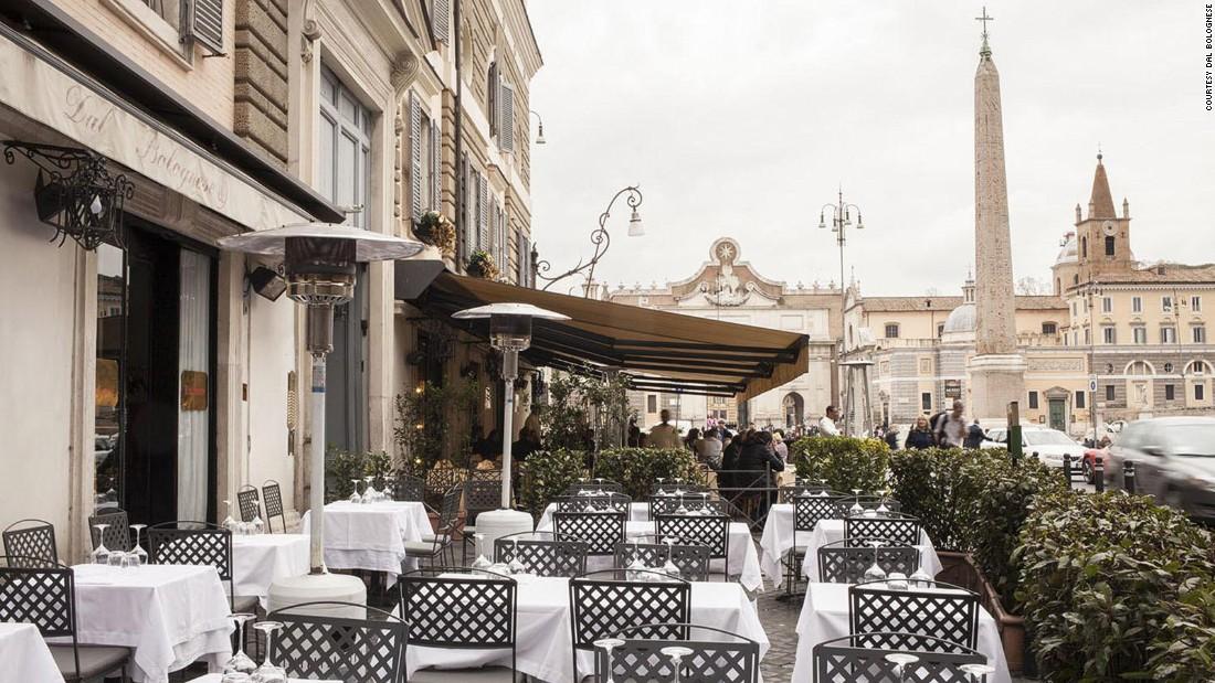 Rome S Outdoor Restaurants The Best Al Fresco Dining Cnn
