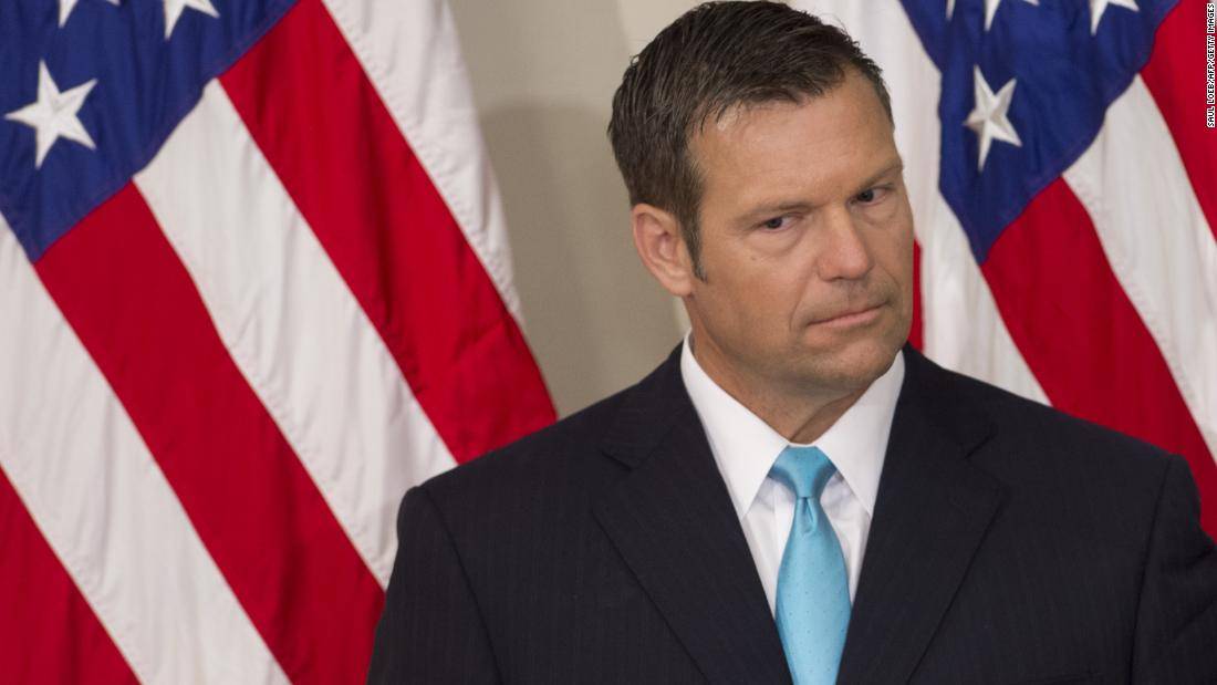 Report: Kobach demanded perks, top Cabinet post to become Trump's 'immigration czar'