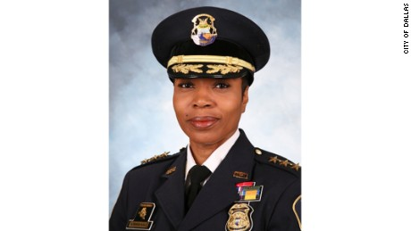 "Dallas Police Chief Ulysha Renee Hall says women ""add that special something to law enforcement that truly, truly calms the savage beasts."""
