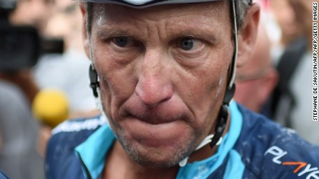 Lance Armstrong: 'A man with no platform is a lost man'
