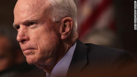 The dramatic return of John McCain