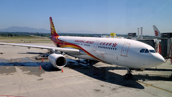 """<strong>2. Hong Kong Airlines:</strong> Hong Kong Airlines is the second-most punctual airline in the world, according to UK-based travel analyst <a href=""""https://www.oag.com/2018-airport-airline-on-time-performance-report"""" target=""""_blank"""" target=""""_blank"""">OAG</a>. In 2017, 88.83% of its flights were on time."""