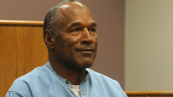 Jul 20, 2017; Lovelock, NV, USA; O.J. Simpson attends a parole hearing at Lovelock Correctional Center. Simpson is serving a nine to 33 year prison term for a 2007 armed robbery and kidnapping conviction. Mandatory Credit: Jason Bean/Reno Gazette-Journal-Pool Photo via USA TODAY NETWORK