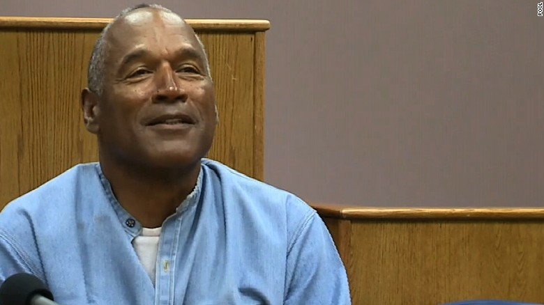 Simpson granted parole after 9 years in prison