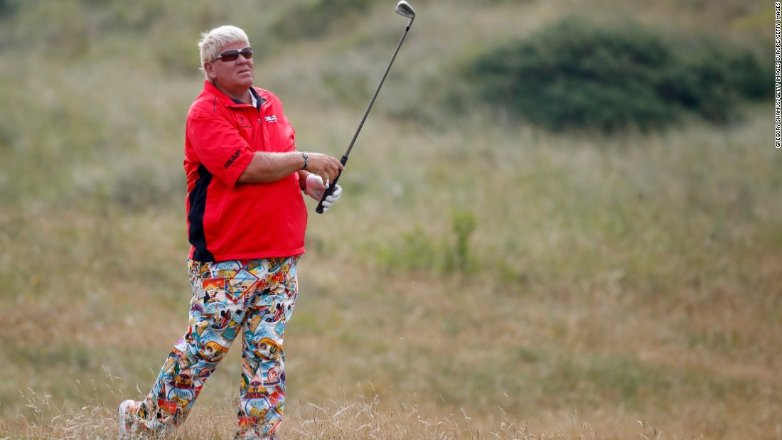 John Daly is one of the most colorful characters in sport.