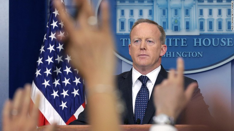 Sean Spicer, Russ Vought sue Biden administration over threatened Naval Board removal