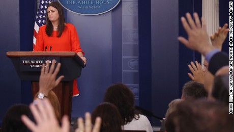 Huckabee Sanders: White House supports sanctions bill