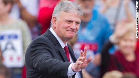 Evangelical leader Franklin Graham says Trump is a 'changed person'