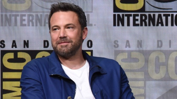 """Actor Ben Affleck attends the Warner Bros. Pictures """"Justice League"""" Presentation during Comic-Con International 2017 at San Diego Convention Center on July 22, 2017 in San Diego, California."""