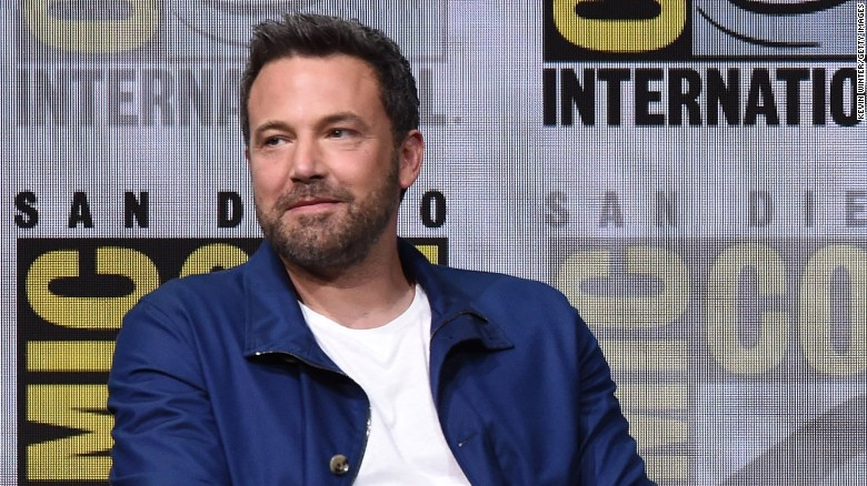 Ben Affleck at Comic-Con in 2017