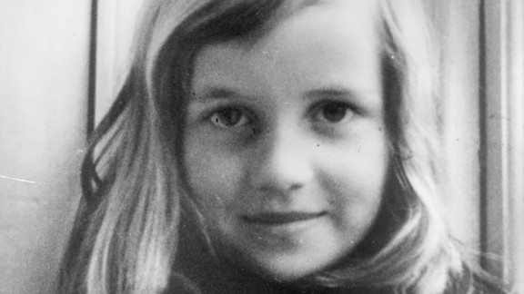 Diana circa 1965. Growing up, she attended private schools in England and Switzerland.