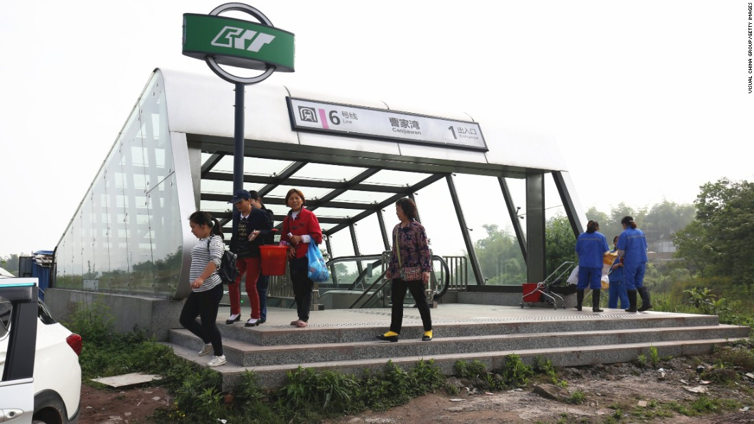 Ubrugte Chongqing metro stop is China's loneliest station | CNN Travel GX-86