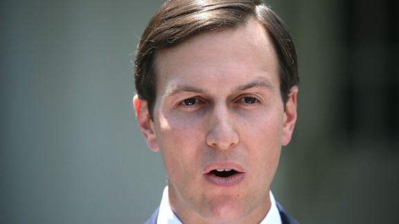 White House Senior Advisor and President Donald Trump's son-in-law Jared Kushner reads a statment in front of West Wing of the White House after testifying behind closed doors to the Senate Intelligence Committee about Russian meddling in the 2016 presidential election July 24, 2017 in Washington, DC.