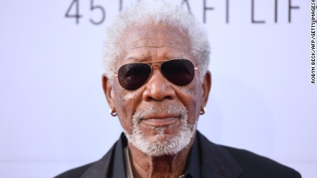 Actor Morgan Freeman poses on arrival for the for the AFI Life Achievement Award Gala honoring Diane Keaton in Hollywood, California on June 8, 2017. / AFP PHOTO / Robyn BECK        (Photo credit should read ROBYN BECK/AFP/Getty Images)