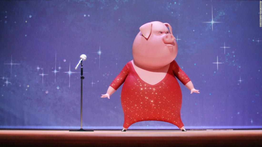 "<strong>""Sing"": </strong>Animals come out to perform in this 3D-animated film about a music competition. <strong>(Netflix) </strong>"