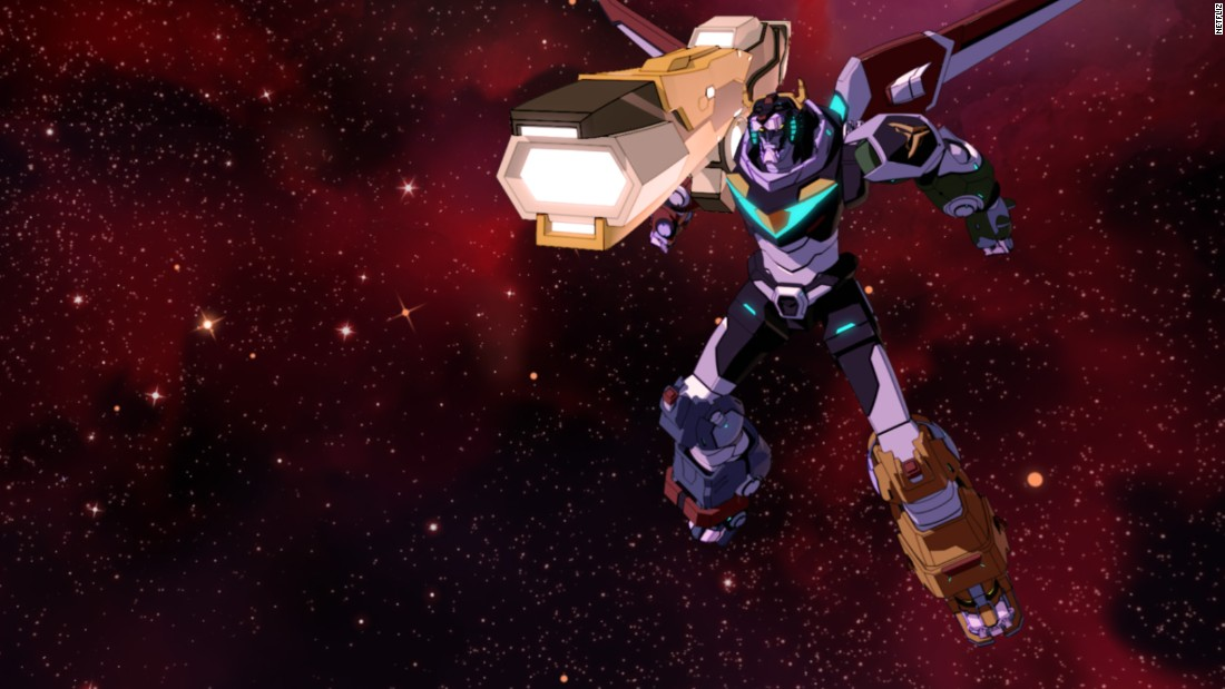 "<strong>""Voltron: Legendary Defender"" Season 3: </strong>This animated series follows the adventures of a group that must learn to work together to form the giant robot Voltron, and use it to defeat an evil empire. <strong>(Netflix) </strong>"