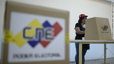 Venezuelans head to the polls amid international outcry