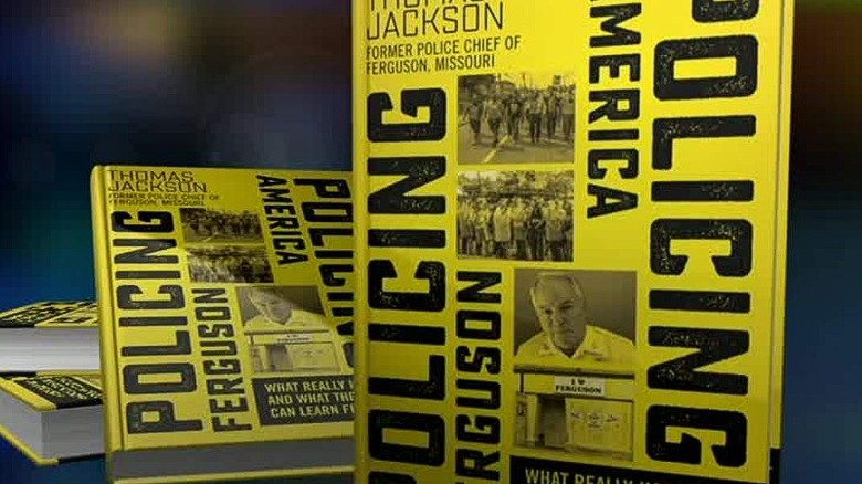 Ex-police chief talks about Ferguson book
