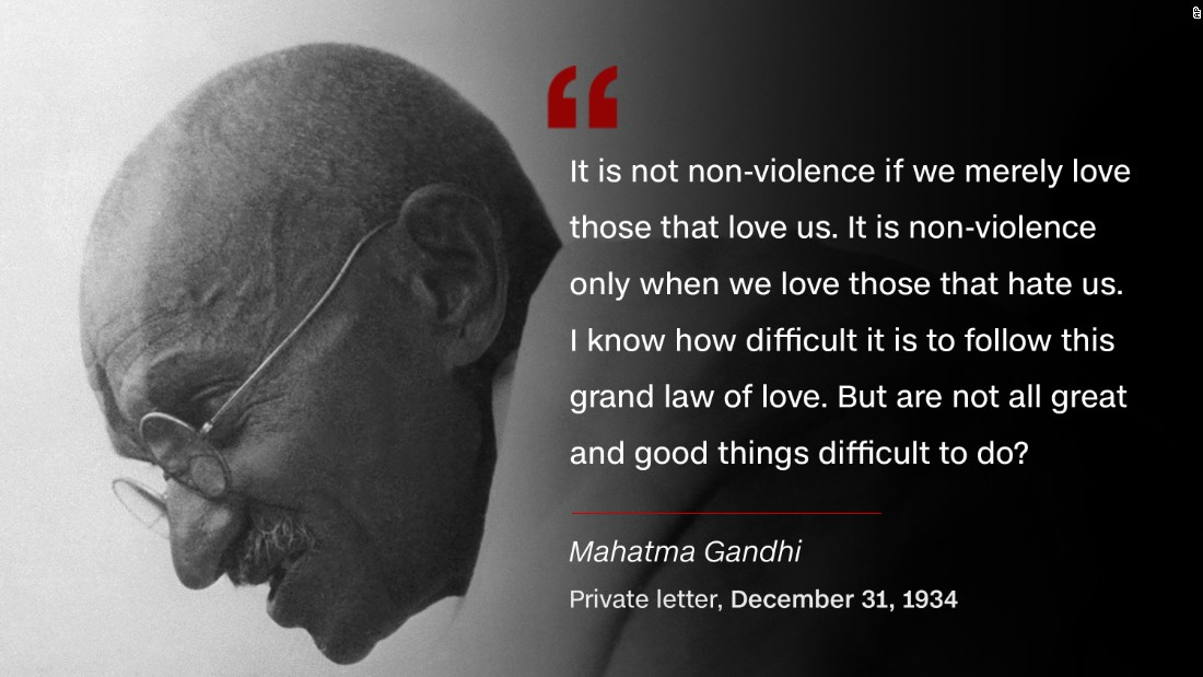 Mahatma Gandhi Quotes On Love Amazing Mahatma Gandhi 'soldier Of Peace'