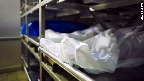 A morgue in Montgomery County, Ohio, fills nearly every night with bodies from the heroin epidemic.