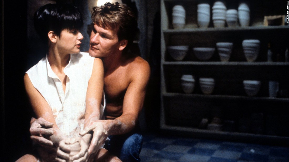 "<strong>""Ghost"": </strong>Demi Moore and Patrick Swayze star as a couple whose love survives the grave. <strong>(Amazon Prime, Hulu) </strong>"